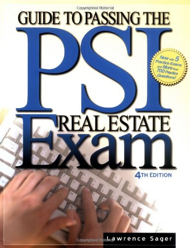 Guide to Passing the Psi Real Estate Exam 9780793138494