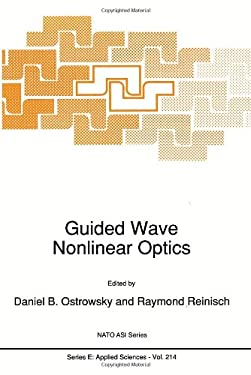 Guided Wave Nonlinear Optics 9780792317272