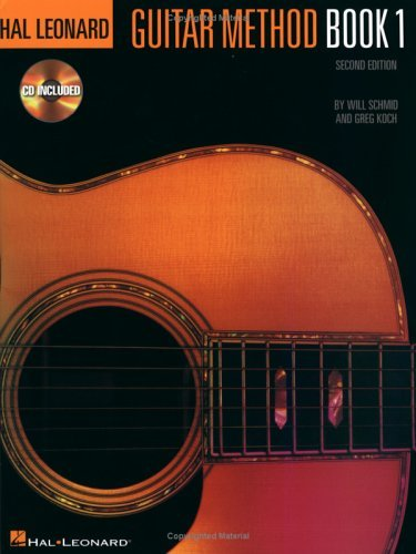 Hal Leonard Guitar Method: Book 1 [With CD]