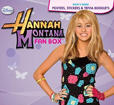 Hannah Montana Fan Box [With Poster and Trivia Booklets] 9780794830663