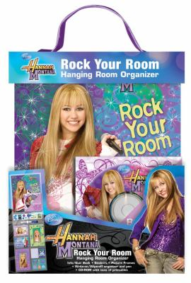 Hannah Montana Rock Your Room Hanging Room Organizer [With Sticker(s) and Poster and Weekly Organizer, Birthday Keeper and CD (Audio) and Frame and No 9780794416430