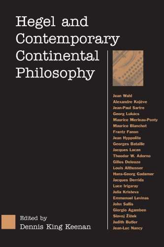 Hegel and Contemporary Continental Philopophy 9780791460924