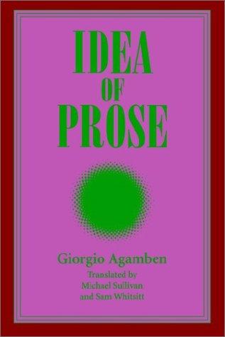 Idea of Prose 9780791423806