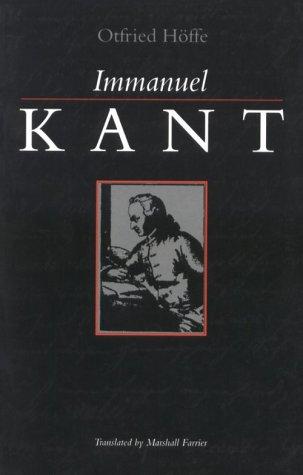 Immanuel Kant 9780791420942