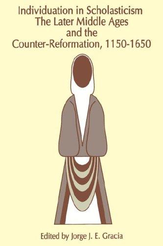 Individuation in Scholasticism 9780791418604