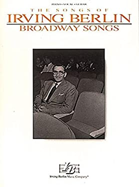 Irving Berlin - Broadway Songs 9780793503803