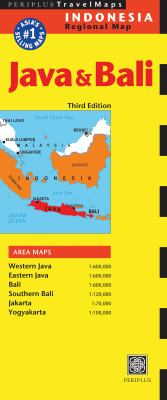 Java & Bali Travel Map Third Edition 9780794606183