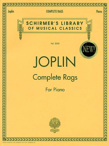 Joplin - Complete Rags for Piano 9780793567737