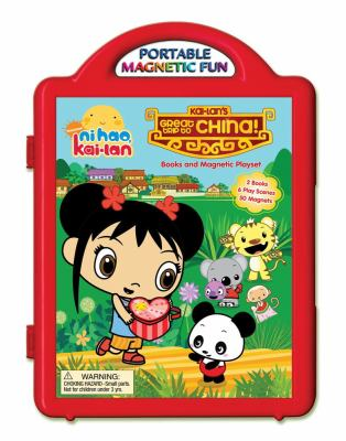 Kai-lan's Great Trip to China Books & Magnetic Playset [With Book(s) and 6 Play Scenes and Magnet(s)] 9780794419417