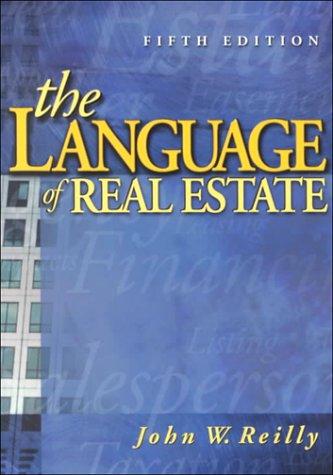Language of Real Estate 9780793131938