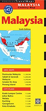 Malaysia Country Map 9780794606213