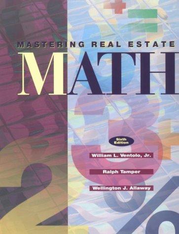Mastering Real Estate Mathematics 9780793111428
