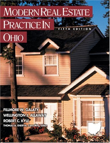 Modern Real Estate Practice in Ohio 9780793187973