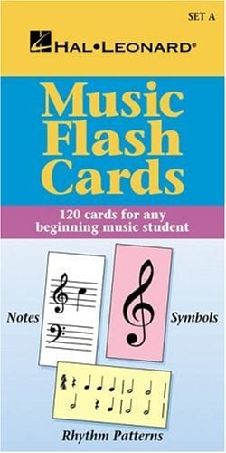 Music Flash Cards - Set a: Hal Leonard Student Piano Library 9780793577750