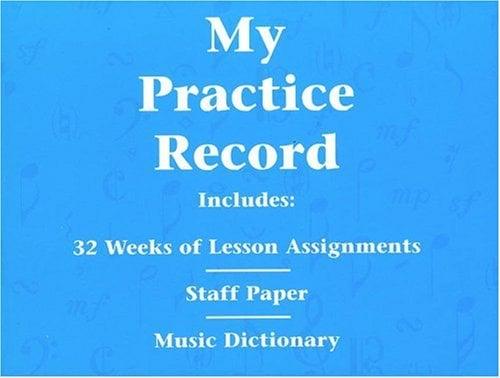 My Practice Record 9780793584741