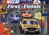 NASCAR First to the Finish [With 4 Cardboard Race Car-Shaped Game Pieces, Randomize] 3190513