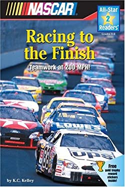 NASCAR Racing to the Finish (All-Star Readers: Level 2) K. C. Kelley