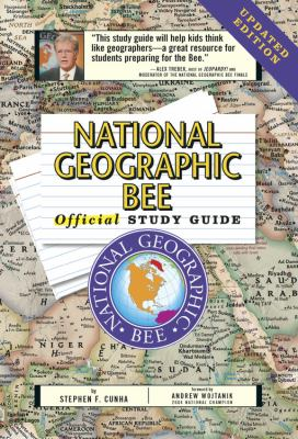 National Geographic Bee Official Study Guide Updated Edition 9780792279976