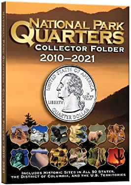 National Park Quarters Collector Folder 2010-2021 9780794828837