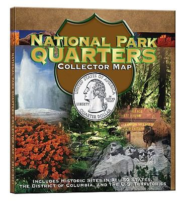 National Park Quarters Collector Map 9780794828844