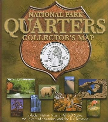 National Park Quarters Collector's Map 9780794828851