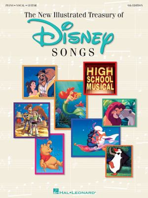 New Illustrated Treasury of Disney Songs 9780793593651