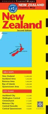 New Zealand Travel Map Second Edition 9780794600327