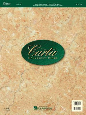 No. 19: Carta Score Paper 9780793557844