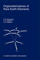 Organoderivatives of Rare Earth Elements 3168004