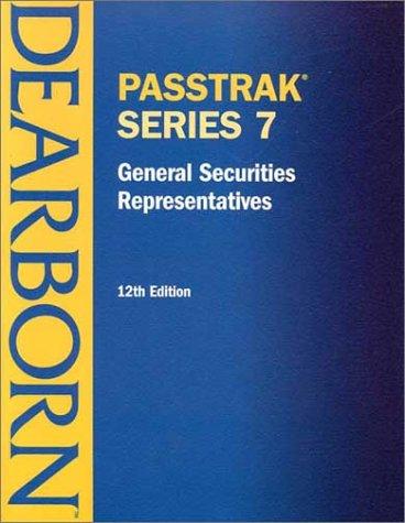 Passtrak 7 General Securities Representative: License Exam Manual 9780793146277