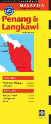 Penang & Langkawi Travel Map Third Edition 9780794600297