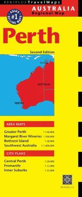 Perth Australia Regional Map 9780794600228