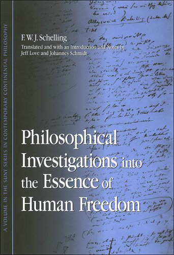 Philosophical Investigations Into the Essence of Human Freedom 9780791468746