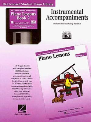 Piano Lessons Book 2 - GM Disk: Hal Leonard Student Piano Library 9780793562695