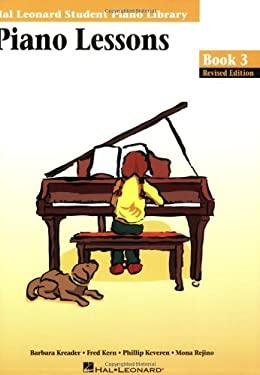 Piano Lessons Book 3 Edition