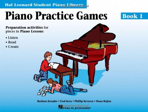 Piano Practice Games Book 1: Hal Leonard Student Piano Library 9780793562619
