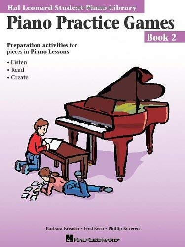 Piano Practice Games Book 2: Hal Leonard Student Piano Library 9780793562664