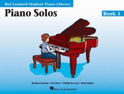 Piano Solos Book 1: Hal Leonard Student Piano Library 9780793562626