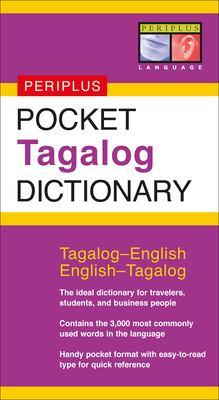 Pocket Tagalog Dictionary: Tagalog-English/English-Tagalog 9780794603458