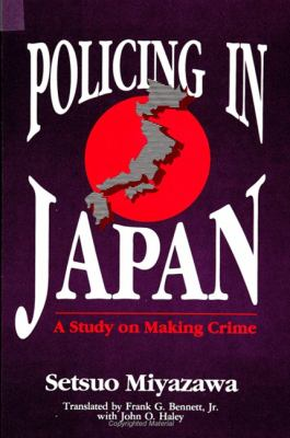 Policing in Japan 9780791408919