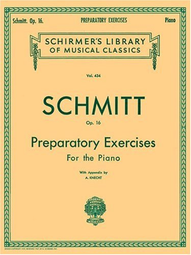 Preparatory Exercises for the Piano, Op. 16 9780793525577