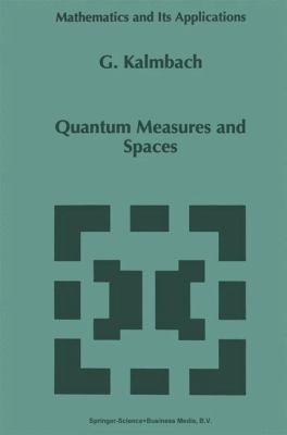 Quantum Measures and Spaces 9780792352884