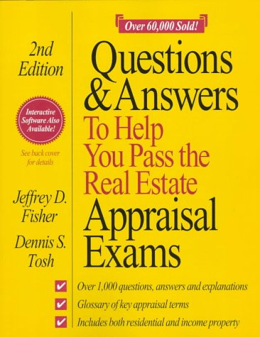 Questions and Answers to Help You Pass the Real Estate Appraisal Exams 9780793109265