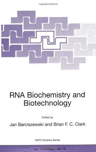 RNA Biochemistry and Biotechnology