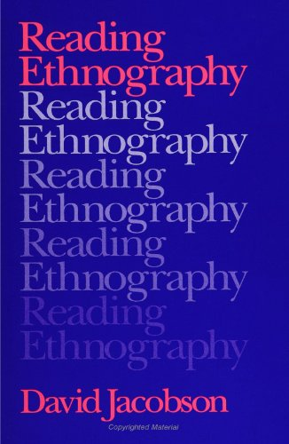 Reading Ethnography 9780791405475