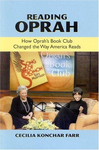 Reading Oprah 9780791462577