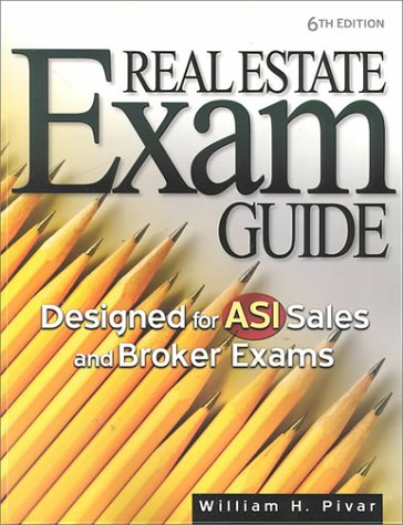 Real Estate Exam Guide: Designed for Asi Sales and Broker Exams 9780793136551