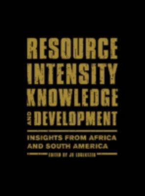 Resource Intensity, Knowledge and Development