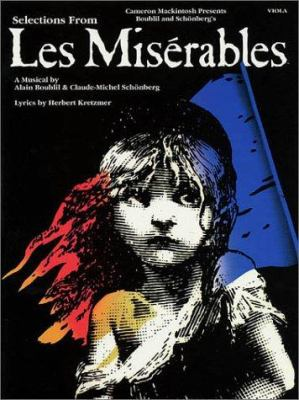 Selections from Les Miserables: Viola 9780793596621