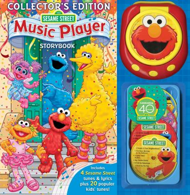 Sesame Street Music Player Storybook [With Music Player & 4 CDs] 9780794419134